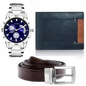 Laurels analogue blue Dial Men's Watch
