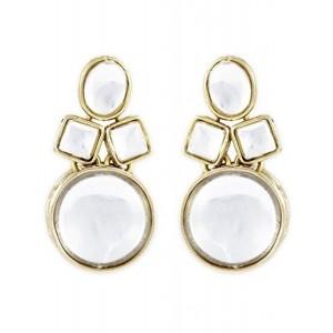 Karatcart Golden Non-Precious Metal Dangle & Drop Earing For Women