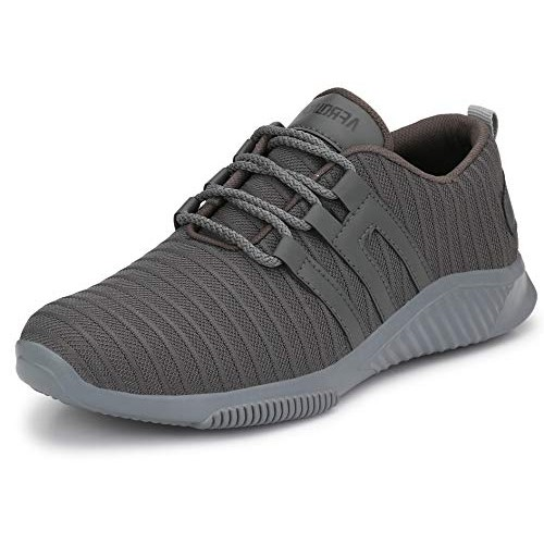 Afrojack Men's Air-5 Mesh Sports Sneakers