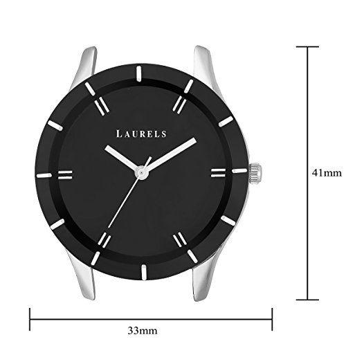 Laurels Black Color Analog Women's Watch with Metal Chain: LWW-COLORS-II-020707