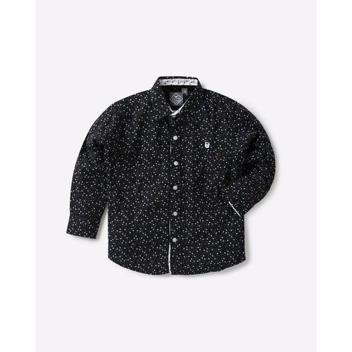 GINI & JONY Micro Print Cotton Shirt