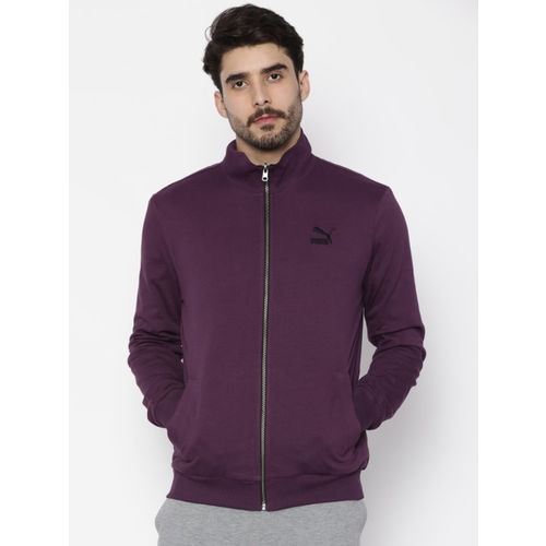 Puma Full Sleeve Solid Men's Reversible Sweatshirt