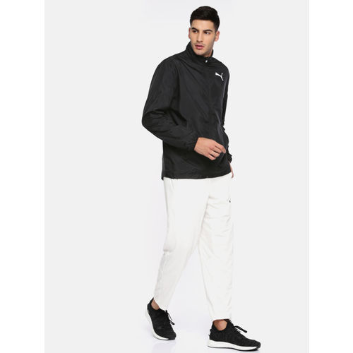 Puma Men Black Solid ESS Active Sporty Jacket 85171501