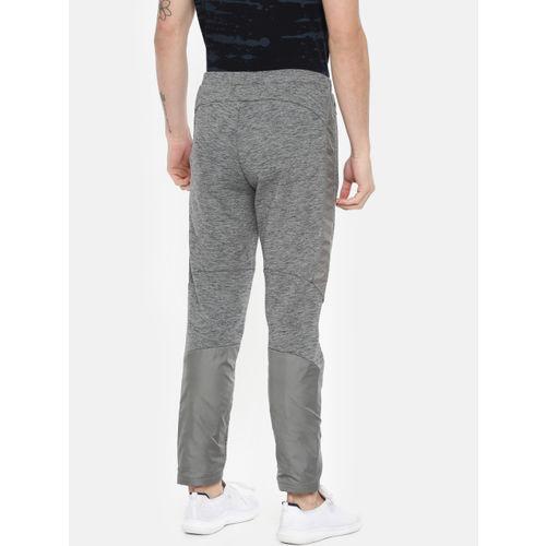 Puma Men Grey Slim Fit Evostripe WR Solid Track Pants