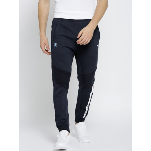 af9e8be6e8e24 Buy Puma Men Navy BMW Motor Sport Solid Joggers online