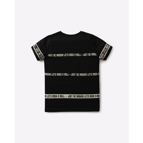 YB DNMX Typographic Print Slim Fit Cotton T-shirt