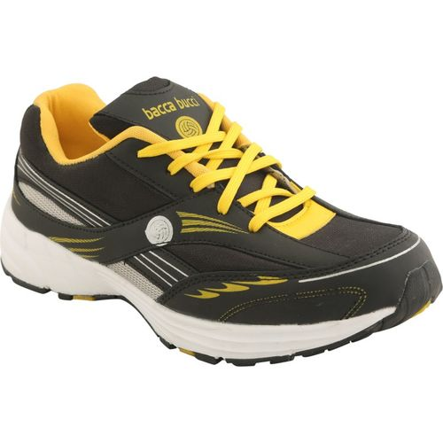 Bacca Bucci Running Shoes For Men(Black)