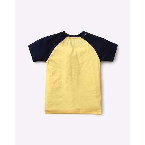 KB TEAM SPIRIT Numeric Print T-shirt with Raglan sleeves