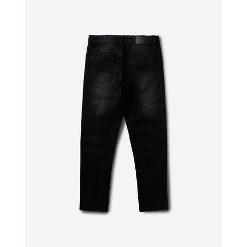 YB DNMX Mid-Rise Washed Jeans with Insert Pockets