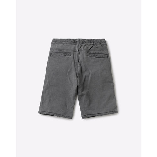 KB TEAM SPIRIT Mid-Rise Shorts with Contrast Panels