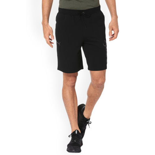 Puma Men Black One8 VK Mens Sweat Sports Shorts