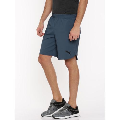 024bad49 Buy Puma Men Blue Solid Evostripe Move Shorts online | Looksgud.in