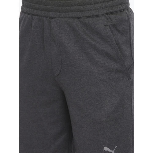 Puma Men Grey Solid Regular Fit Oceanaire Energy Sports Shorts