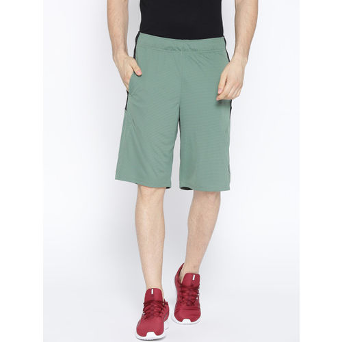 Puma Men Olive Green Solid Regular Fit Energy Knit-Mesh 11