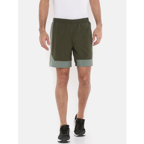 Puma Men Olive Green ftblNXT DRY-CELL Woven Shorts