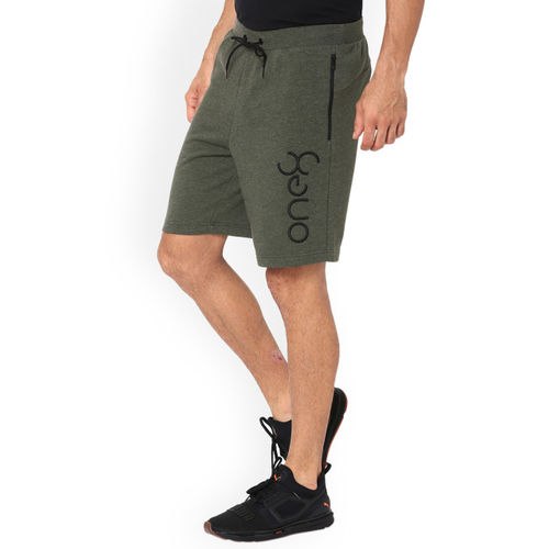 Puma Men Olive Green One8 VK Mens Sweat Sports Shorts