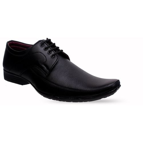 JUMPING SHOES Lace Up For Men(Black)