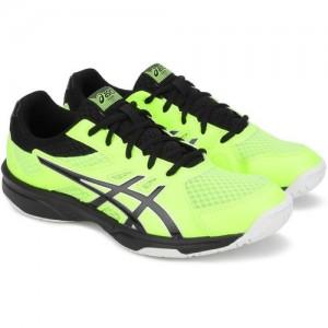 Asics UPCOURT 3 Squash Shoes For Men(Green)
