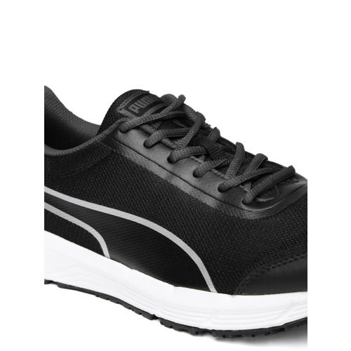 Puma Men Black Rafter II IDP Running Shoes