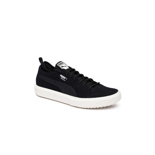 Buy Puma Unisex Black Breaker Mesh Suede Sneakers online  69f1baff7