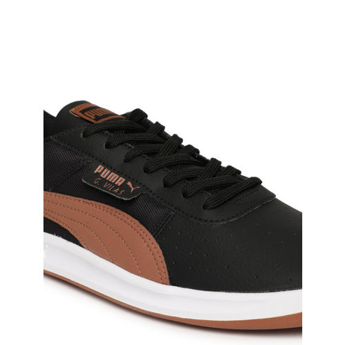 Puma Men Black G Vilas 2 Core IDP Sneakers