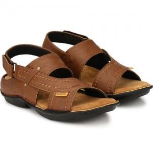 4c8f1ffbb6d98 Lee Peeter Men Brown Sandals