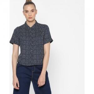 9b3f4eb330b Buy DNMX Denim Shirt with Cap Sleeves online