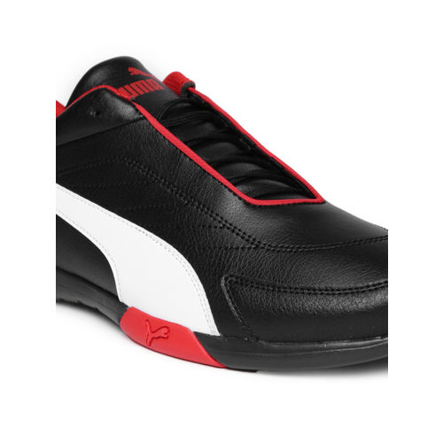 Puma Men Black SF Kart Cat III Sneakers
