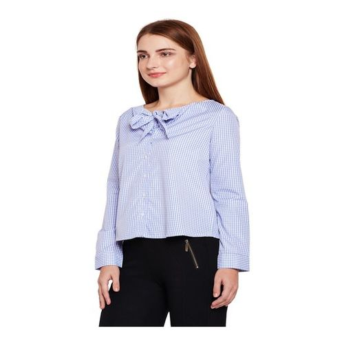 Oxolloxo Blue Checks Shirt