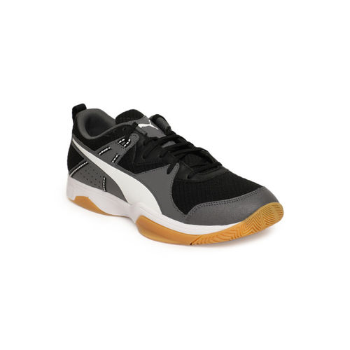 Puma Unisex Black & Grey Stoker.18 Sneakers