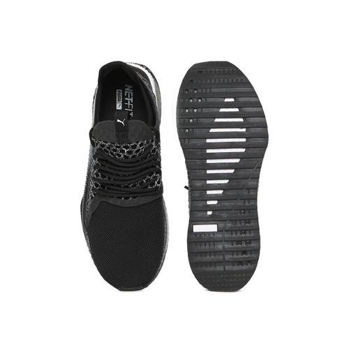 Puma Men Black & Grey TSUGI NETFIT v2 Sneakers