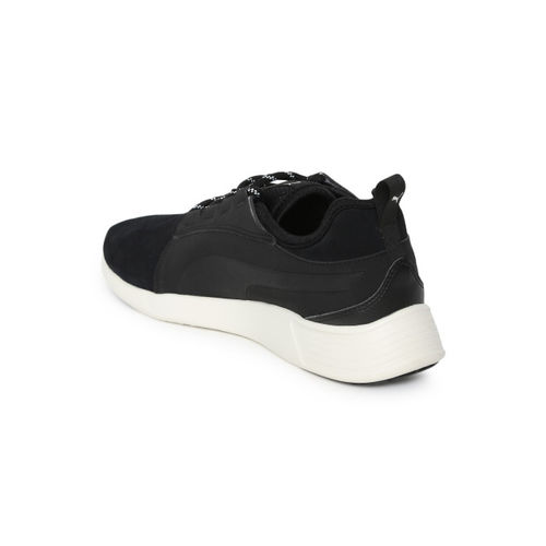 Puma Men Black ST Trainer Evo SD v2 IDP Suede Sneakers
