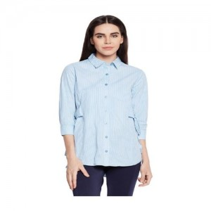 Oxolloxo Blue Striped Shirt