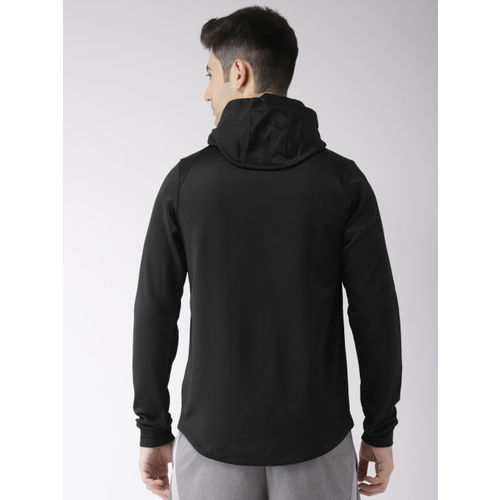Nike Men Black Printed Standard Fit DRI-FIT Technology LBJ HOODIE PO Sweatshirt