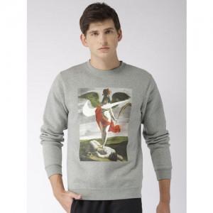 Nike As Crew Flc Allegory Grey Sweatshirt