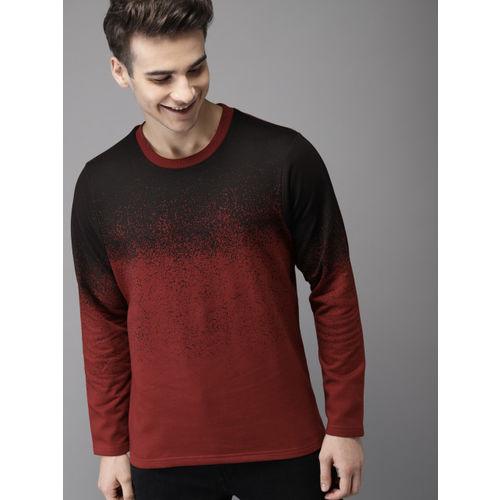 HERE&NOW Black Colourblocked Sweatshirt