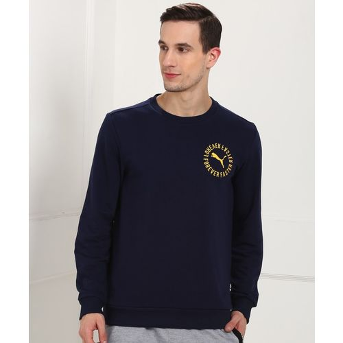 Puma Full Sleeve Printed Men Sweatshirt