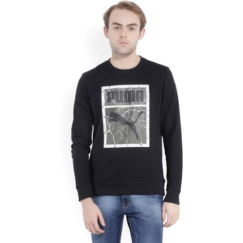 Puma Full Sleeve Printed Men's Sweatshirt