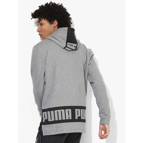 Puma Rebel Grey Hoodie