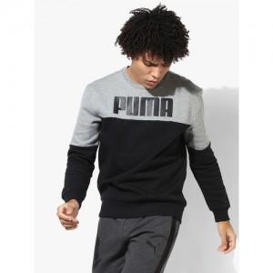 Puma Rebel Block Black Sweatshirt