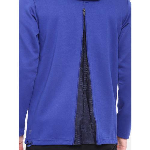 Puma Blue Q4 VENT Hooded Dry-Cell Sweatshirt