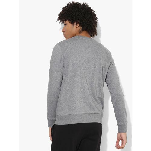 Puma Archive Embossed Logo Grey Sweat Shirt