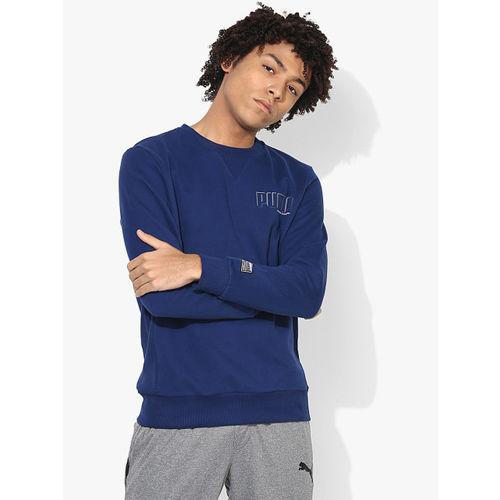 Puma Style Athletics Blue Sweatshirt