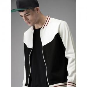 Moda Rapido Black Colourblocked Sweatshirt