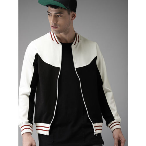 Moda Rapido Black Colourblocked Sweatshirt