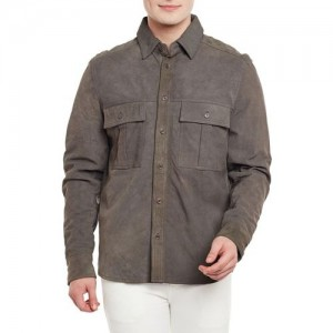 Bare Skin Full Sleeve Solid Men's Jacket