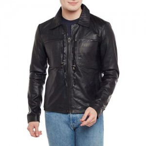 Bare Skin Full Sleeve Solid Men's Jacket