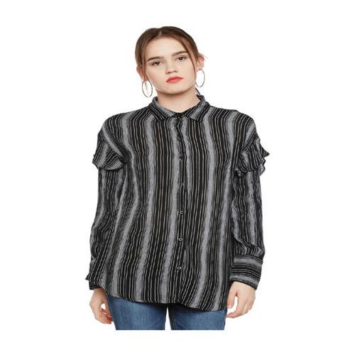 Oxolloxo Black Striped Shirt