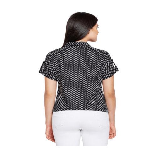 Oxolloxo Black Printed Shirt