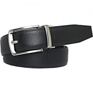Saugat Traders Black & Brown Artificial Leather Reversible Belt